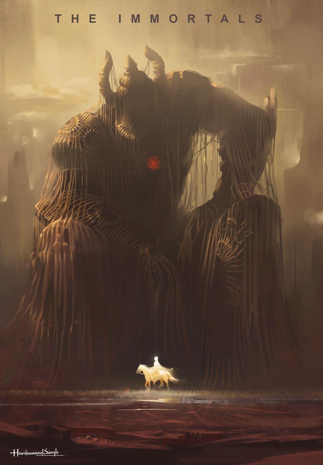 dream of strange creatures