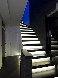 Marvelous LED Stair Lighting | Super Bright LEDs   Light As You Go Steps