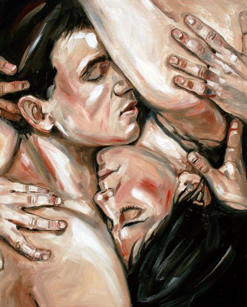 Bauchgefuhl Kunst Malerei Und Bilder