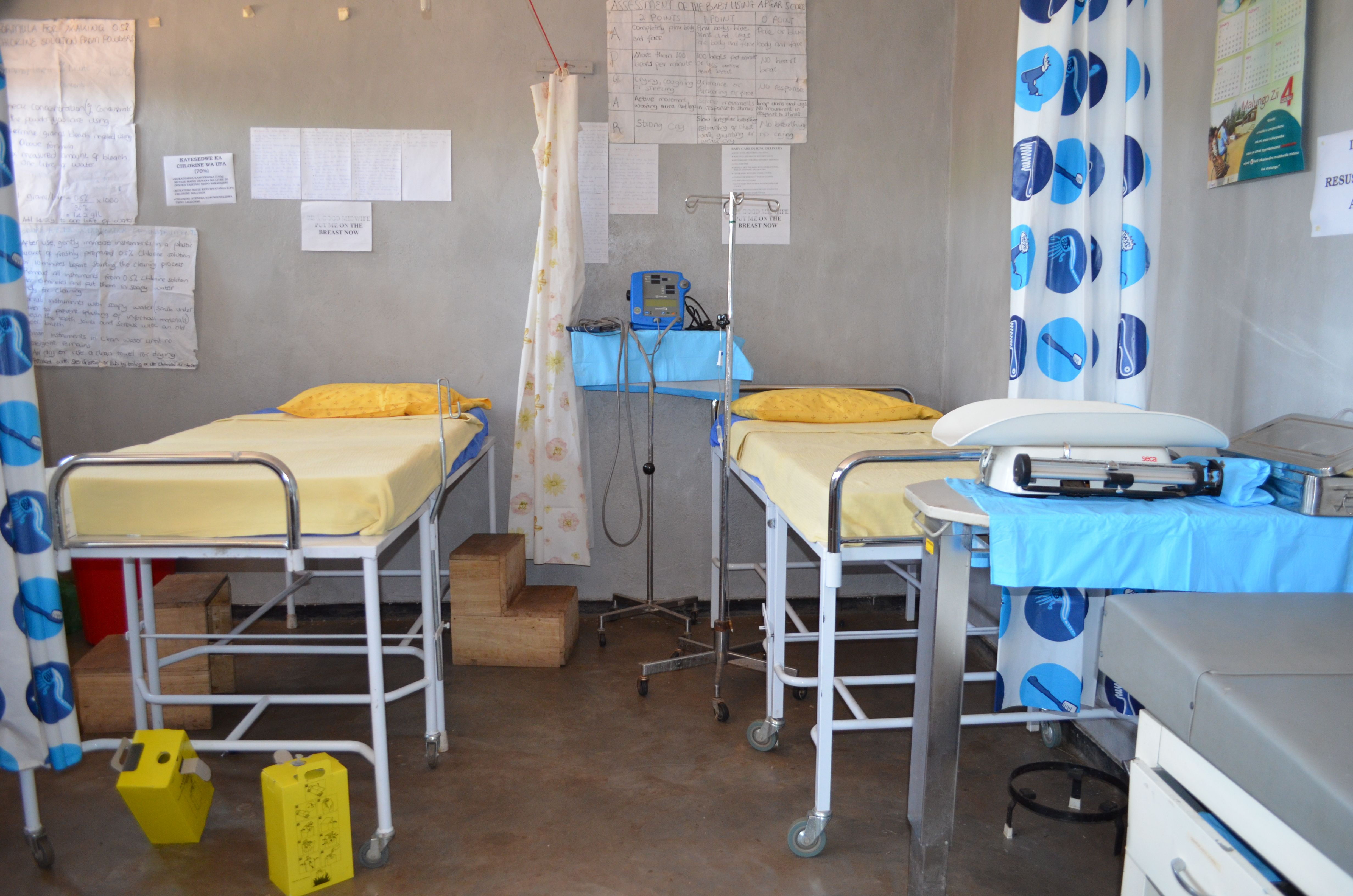 Inside look of the Nandumbo Health Centre Hospital Beds