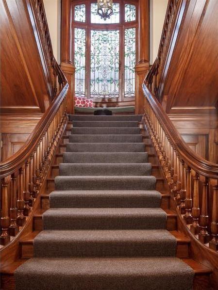 Victorian Gothic Interior Style Hellman Mansion