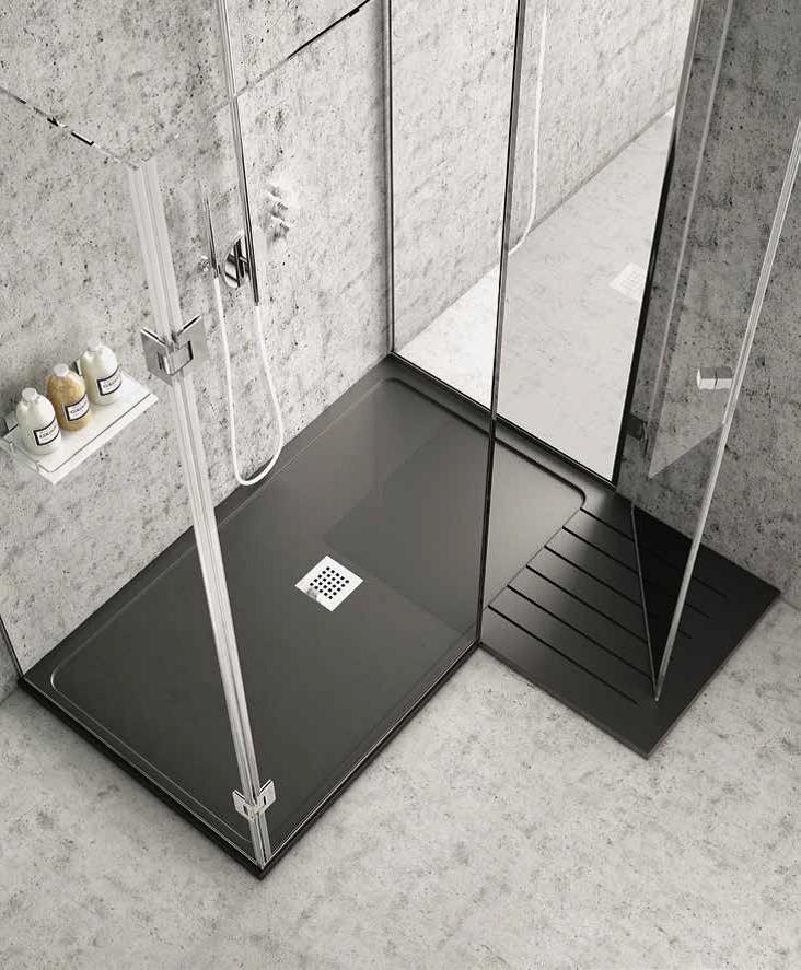 plato de ducha extraplano a medida realizado por control numrico disponible en textura lisa e - Platos De Ducha Modernos