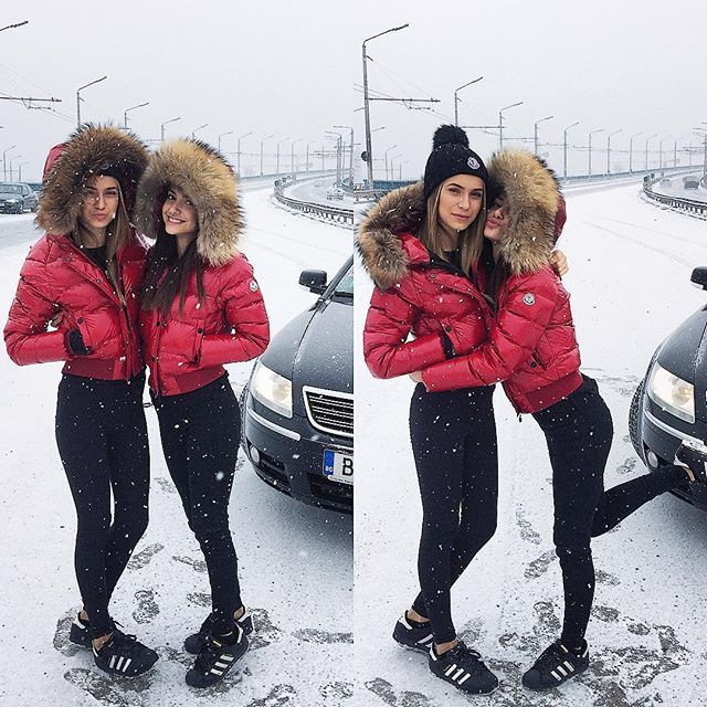 Pretty Girls Wear Moncler 3 Anziehsachen Jacken Und Daunen Jacke