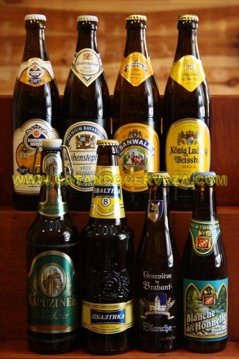 Pack Cerveza De Trigo Internacional Las Mejores Cervezas De