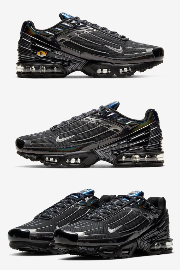 "Nike Air Max Plus 3 ""Black Iridescent"" Coming Soon | Chaussure ..."