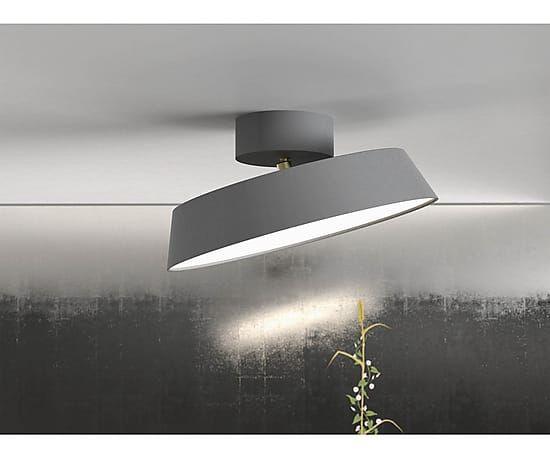NORDLUX LED-Deckenleuchte Alba, grau, Ø 30 cm as seen on Westwing