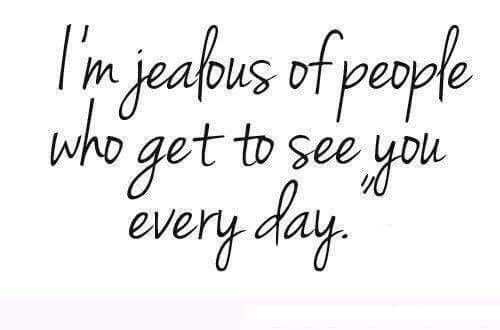 I really am. I'm so jealous of the people who spend every waking moment with you. Who get to see your smile. Your eyes. Your laugh. See all the cute and wonderful things you do. I want to support and love you in the worst way :3