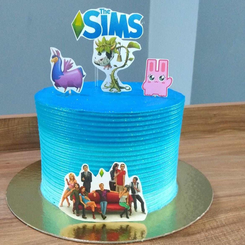 Sims 4 Birthday Cake Cheat Cake  Cookies