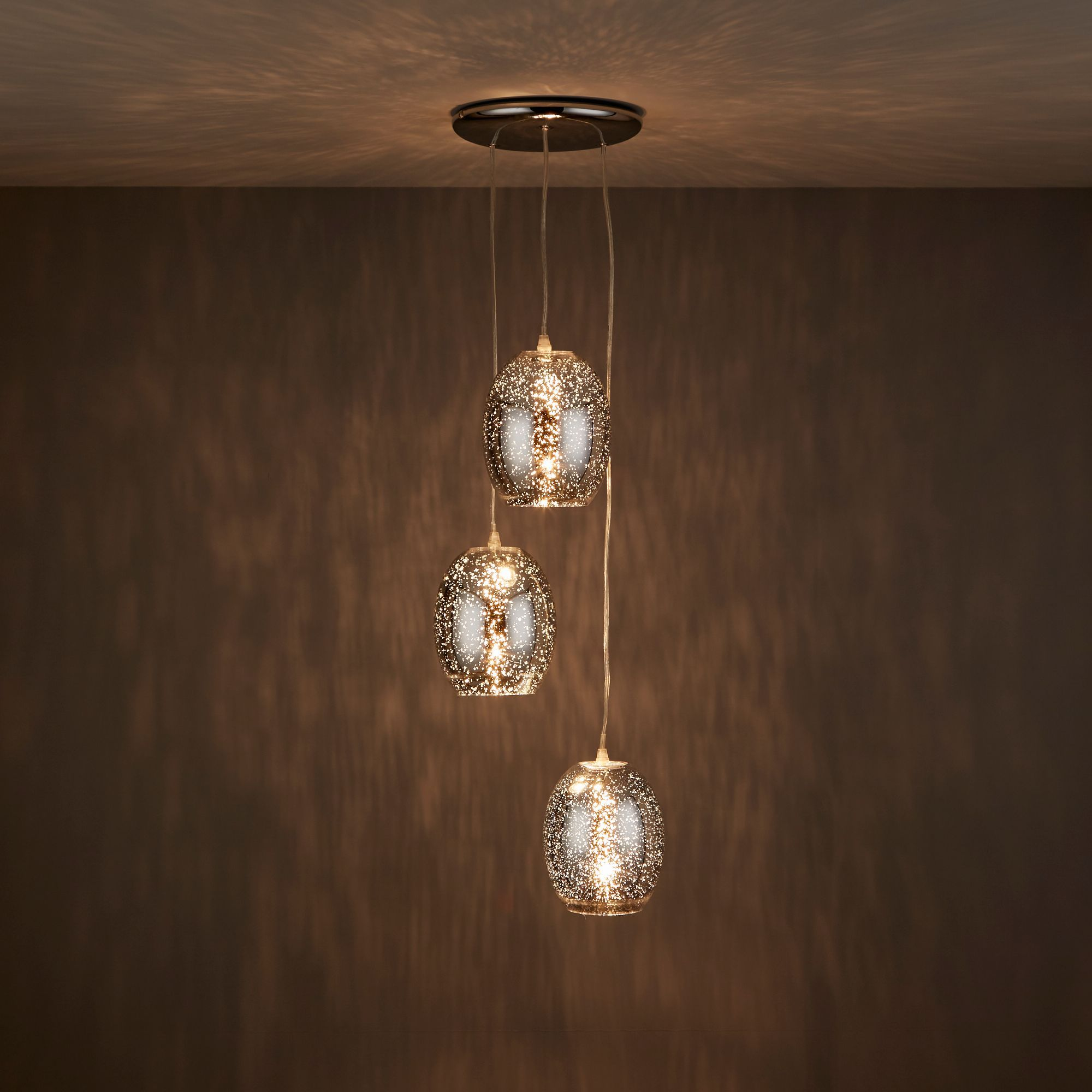 Effect 3 Lamp Pendant Ceiling Light