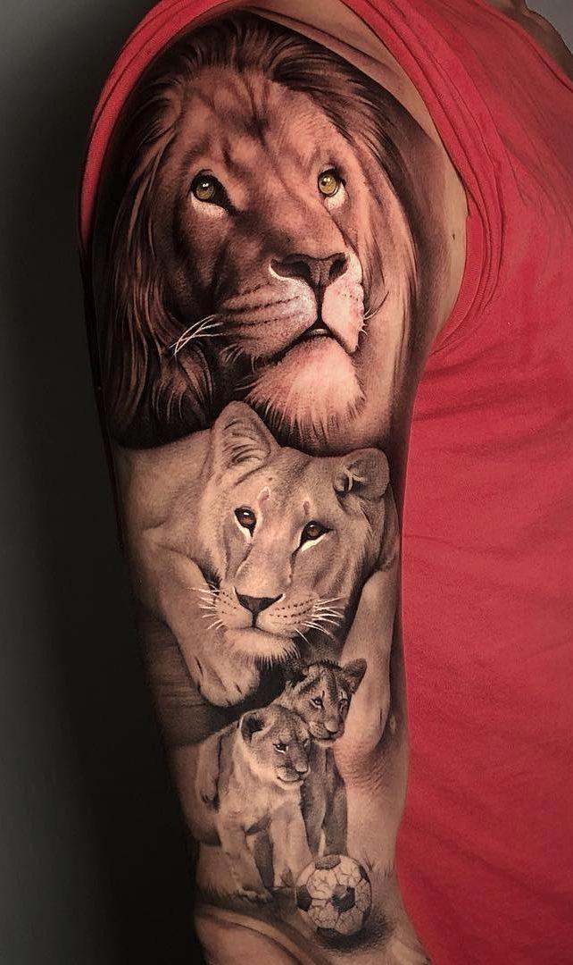 вашему вниманию тату семья львов фото моём случае, перебрав