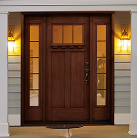 Craftsman fiberglass collection front entry pinterest for Residential entry doors
