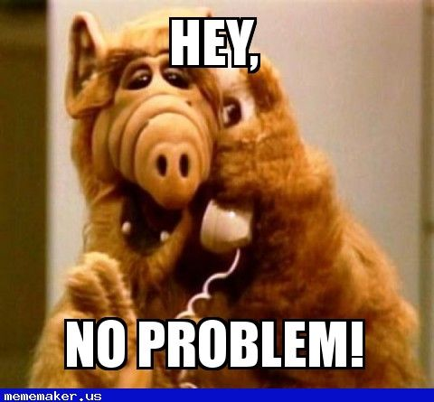 Image result for no problem meme