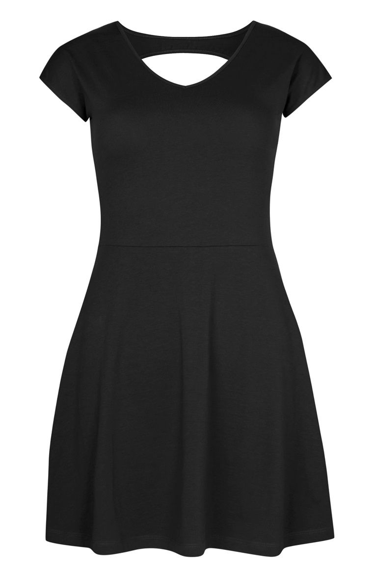 Longue robe noire primark