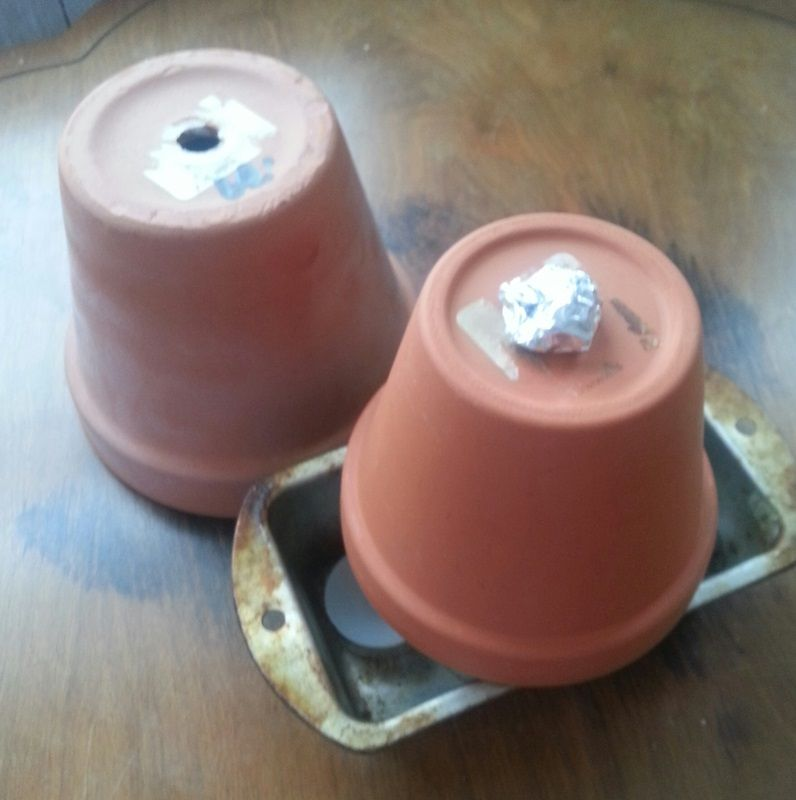 DIY Clay Pot Space Heater