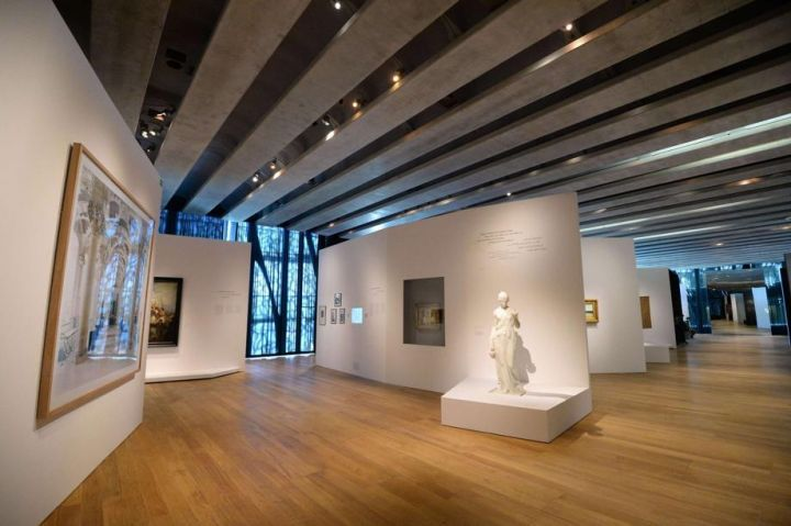 Inside The Mucem S Exhibition Space With Images Art Gallery