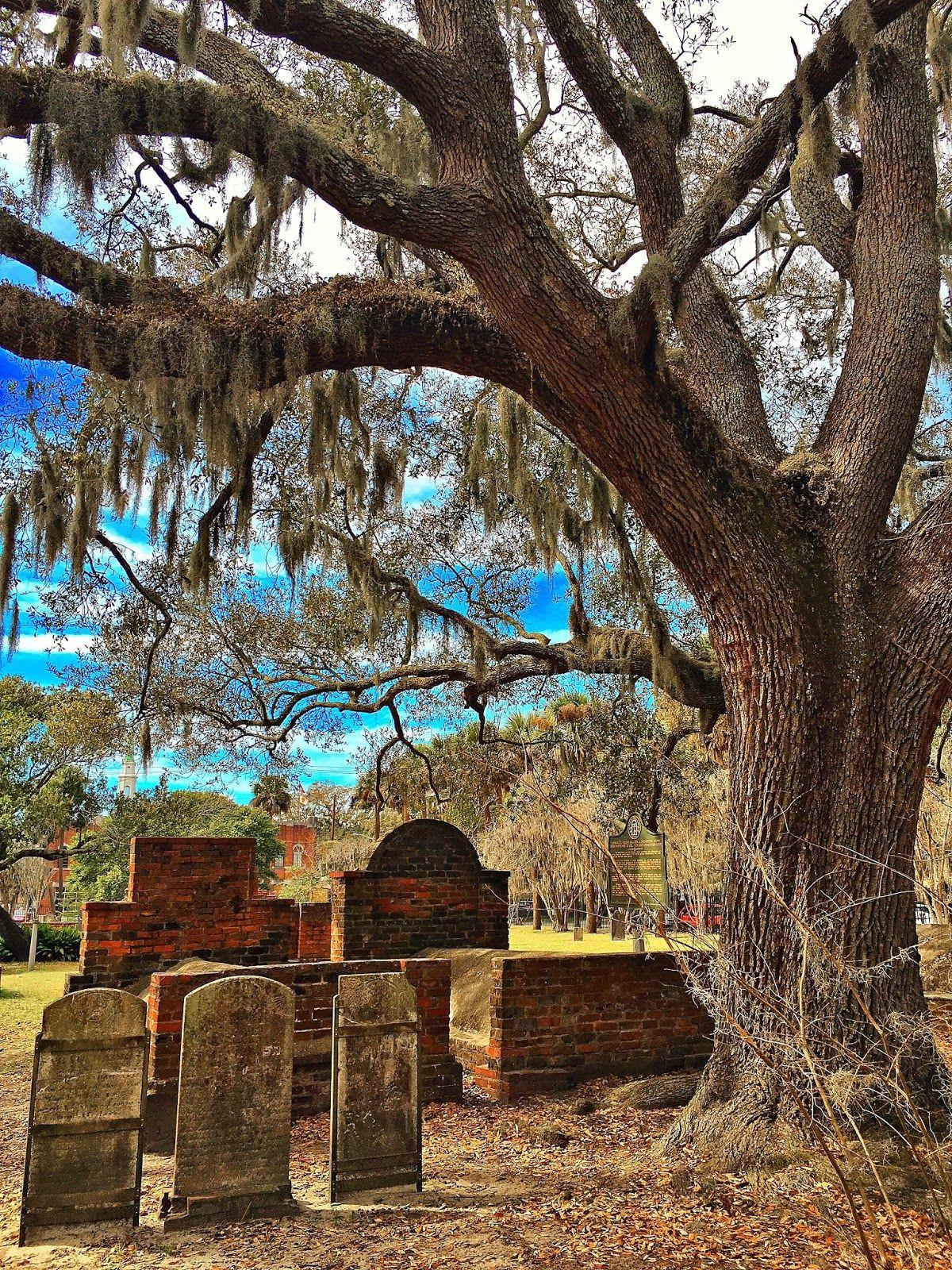 Cemetery In Savannah Georgia 2019