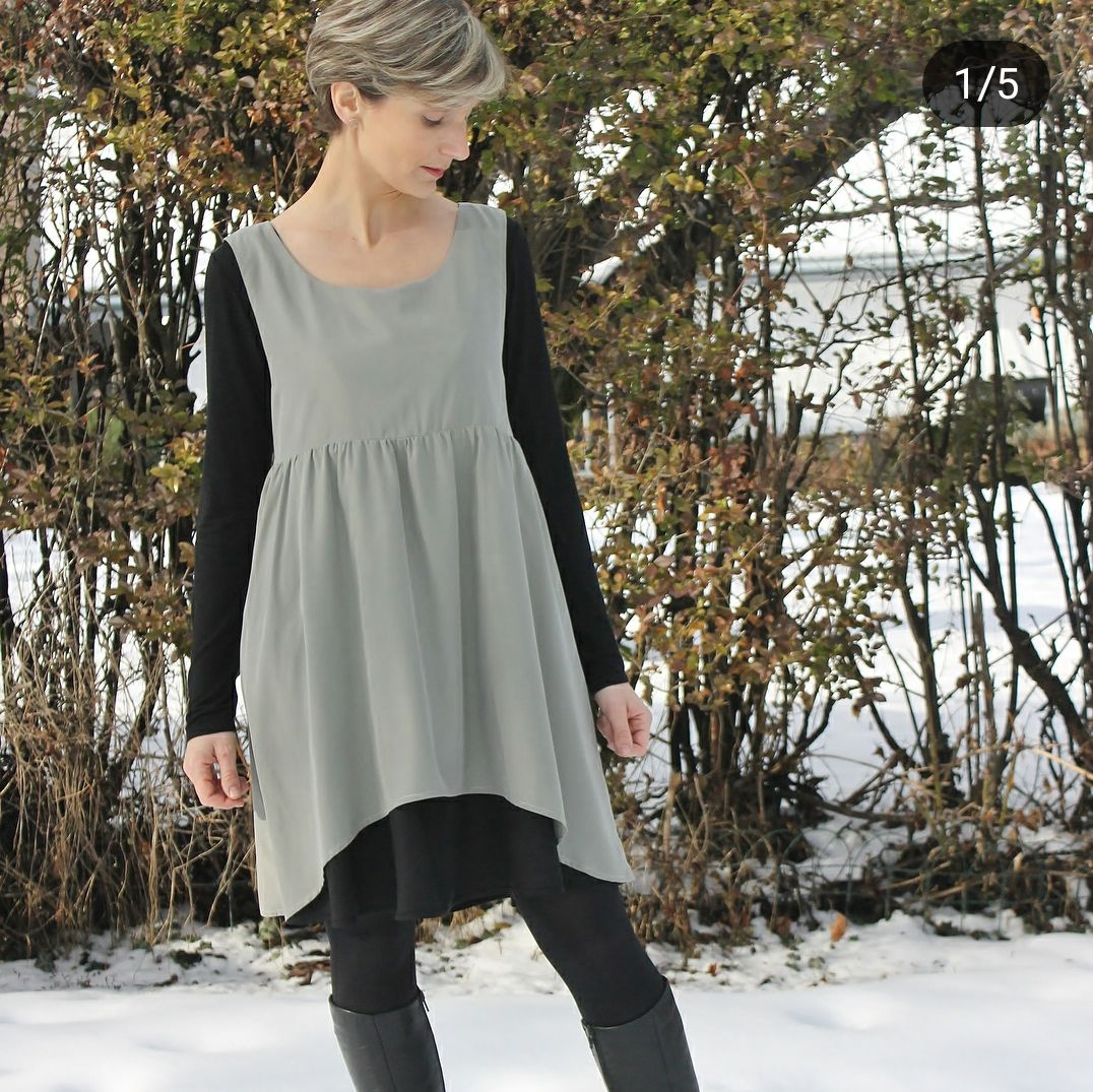 A take on Metamorphic Dres from Sew Liberated. | SEWING IDEAS ...