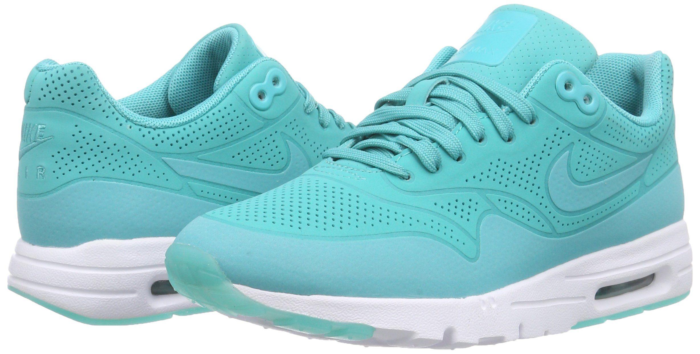 Nike Air Max 1 Ultra Moire, Damen Sneakers, Türkis (lite