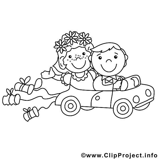 Malvorlage Auto Hochzeit Hochzeit In 2019 Ausmalbilder Hochzeit