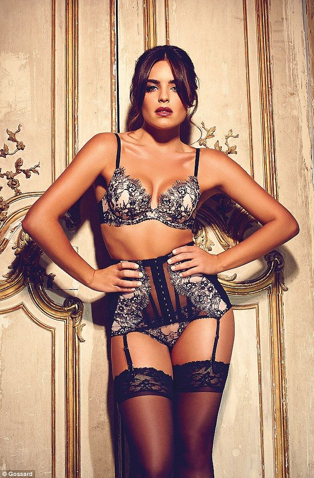 092d1e4680 Neighbours star Olympia Valance wears revealing lace lingerie in a series  of .