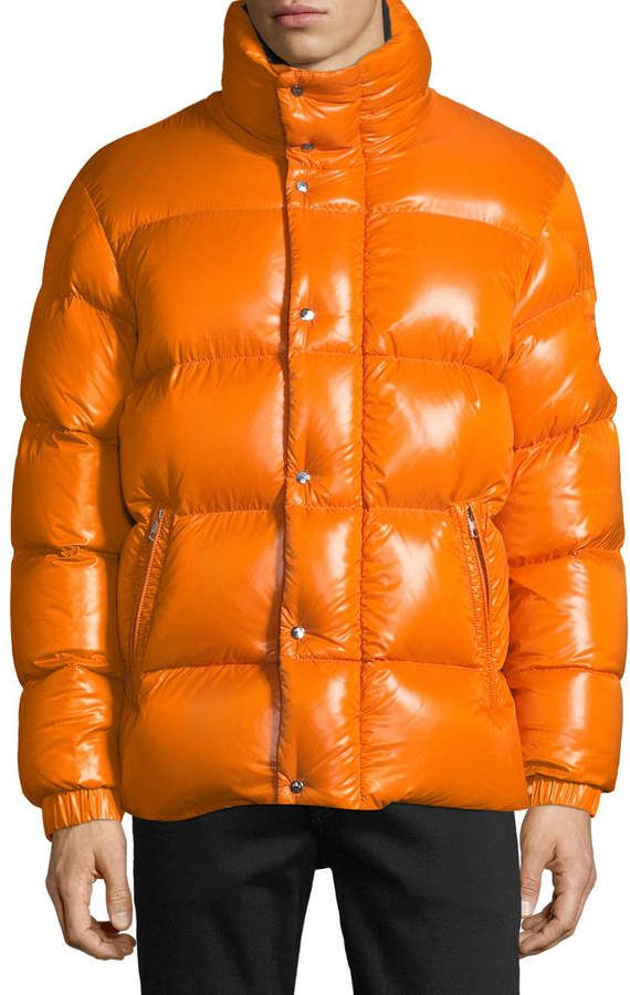 Moncler Men's Moncler Genius Dervaux Puffer Coat w Tuck