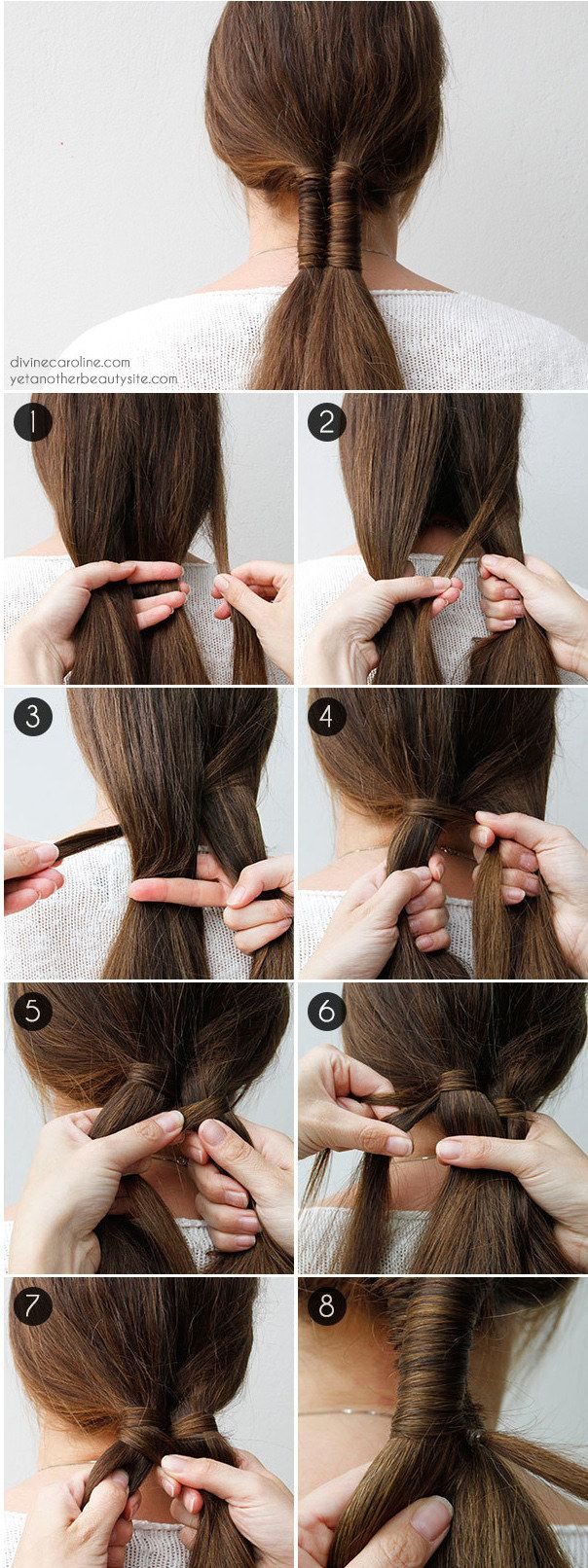 tutoriales de trenzas que querrás probar hairstyle pinterest