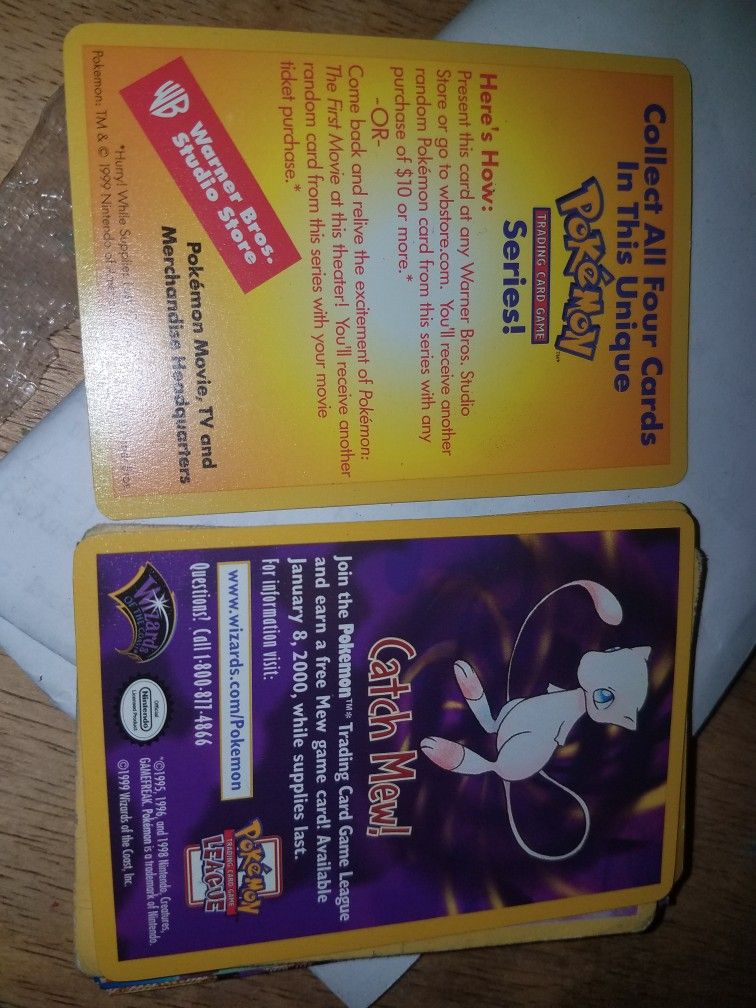 Catch mew promo cards hah pokemon cards pokemon cards