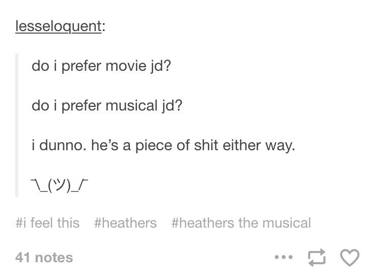 But I sadly still love both SHUT UP HEATHER Pinterest - Musical Theatre Resume