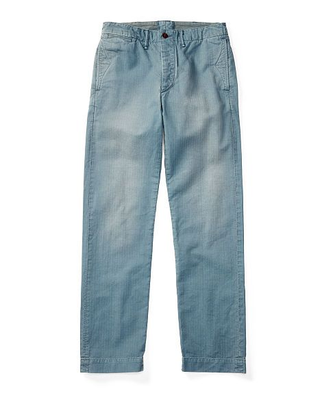 Cotton Officer's Chino - RRL Straight - RalphLauren.com · Distressed JeansBabies  ClothesMen's ...