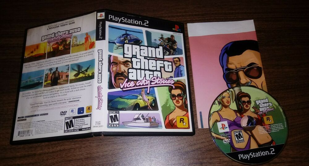 Grand Theft Auto Vice City Stories Playstation Ps2 Tested Fast Shipping Ps4 Gaming Video Grand Theft Auto Playstation Theft