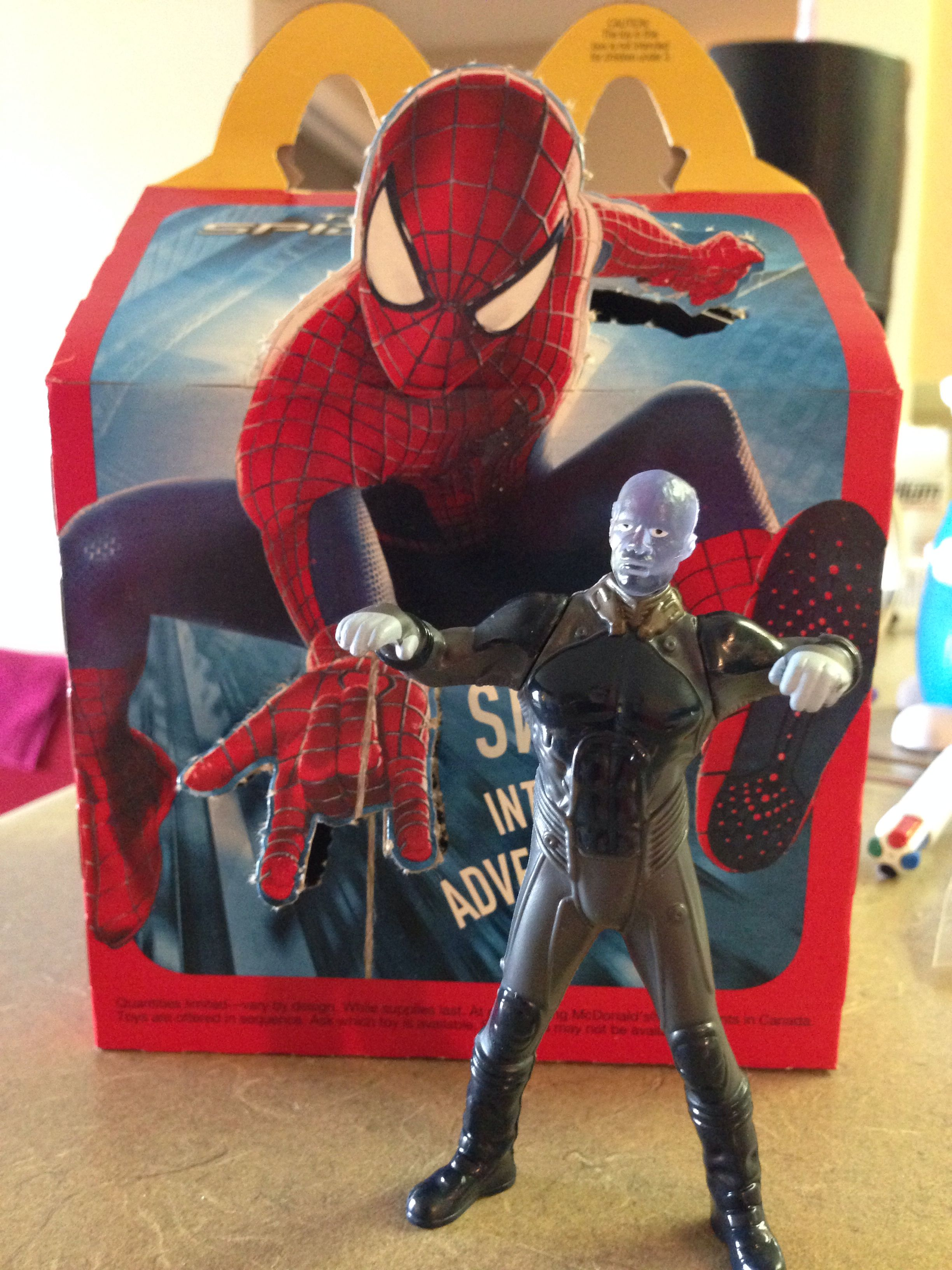 The Amazing Spider-Man 2 Happy Meal Toys Boys #2 Electro ...