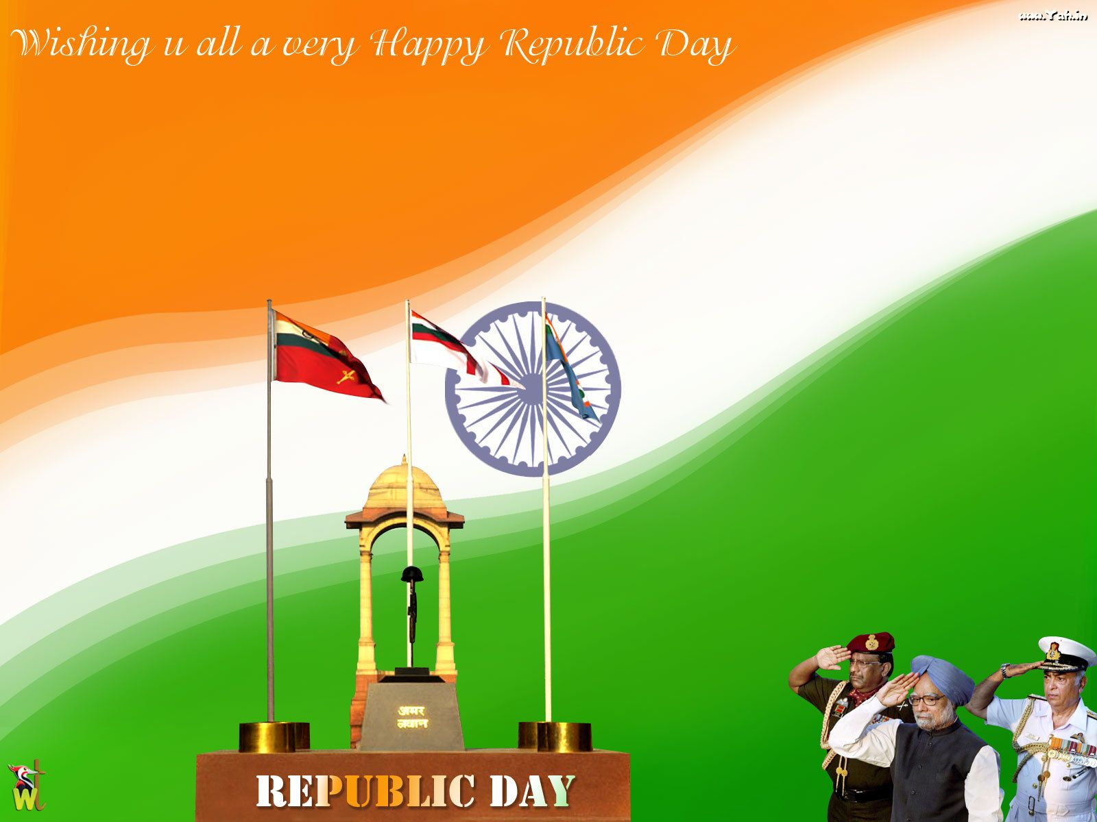 Occasions Republic Day 26 January Wallpaper January Wallpaper Hd wallpapers india happy republic day
