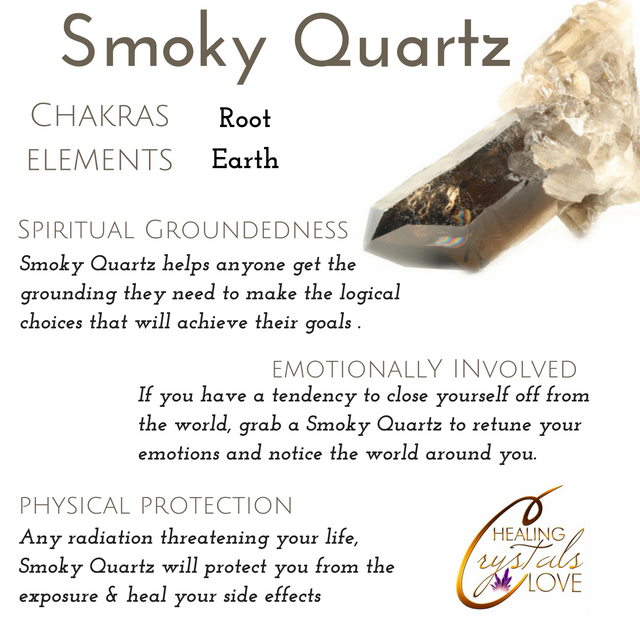Internal structure of crystals and gems #smokyquartz