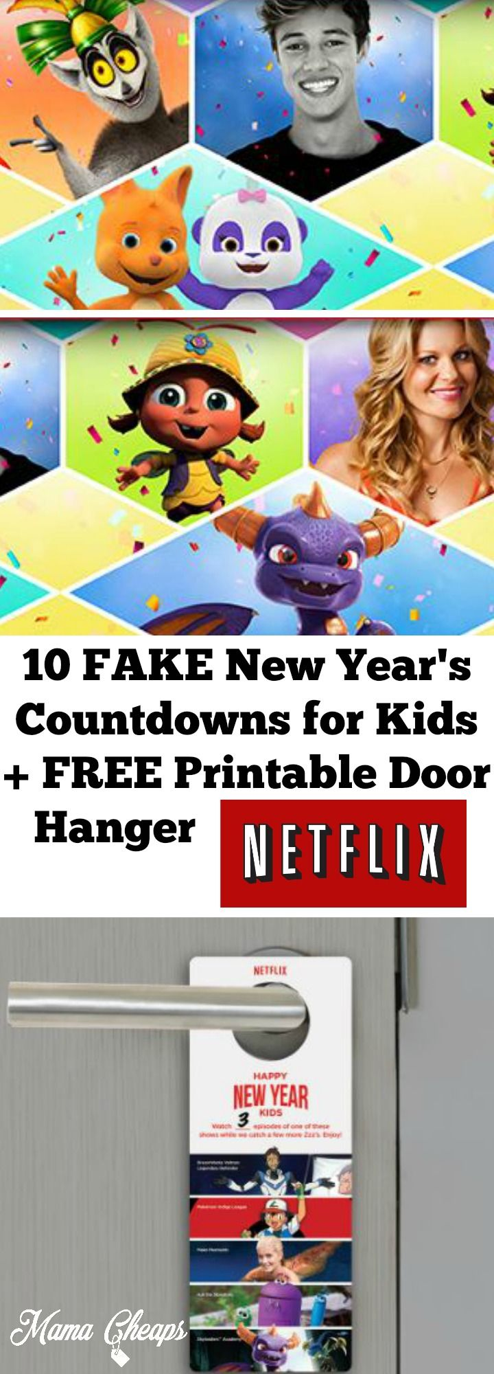 10 New Year's Countdowns from Netflix to Totally Fake Out the Kids and Get Them in Bed Before Midnight from @MamaCheaps http://bit.ly/2hV4tSy