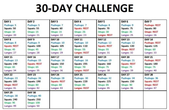 26 Days Weight Loss Challenge