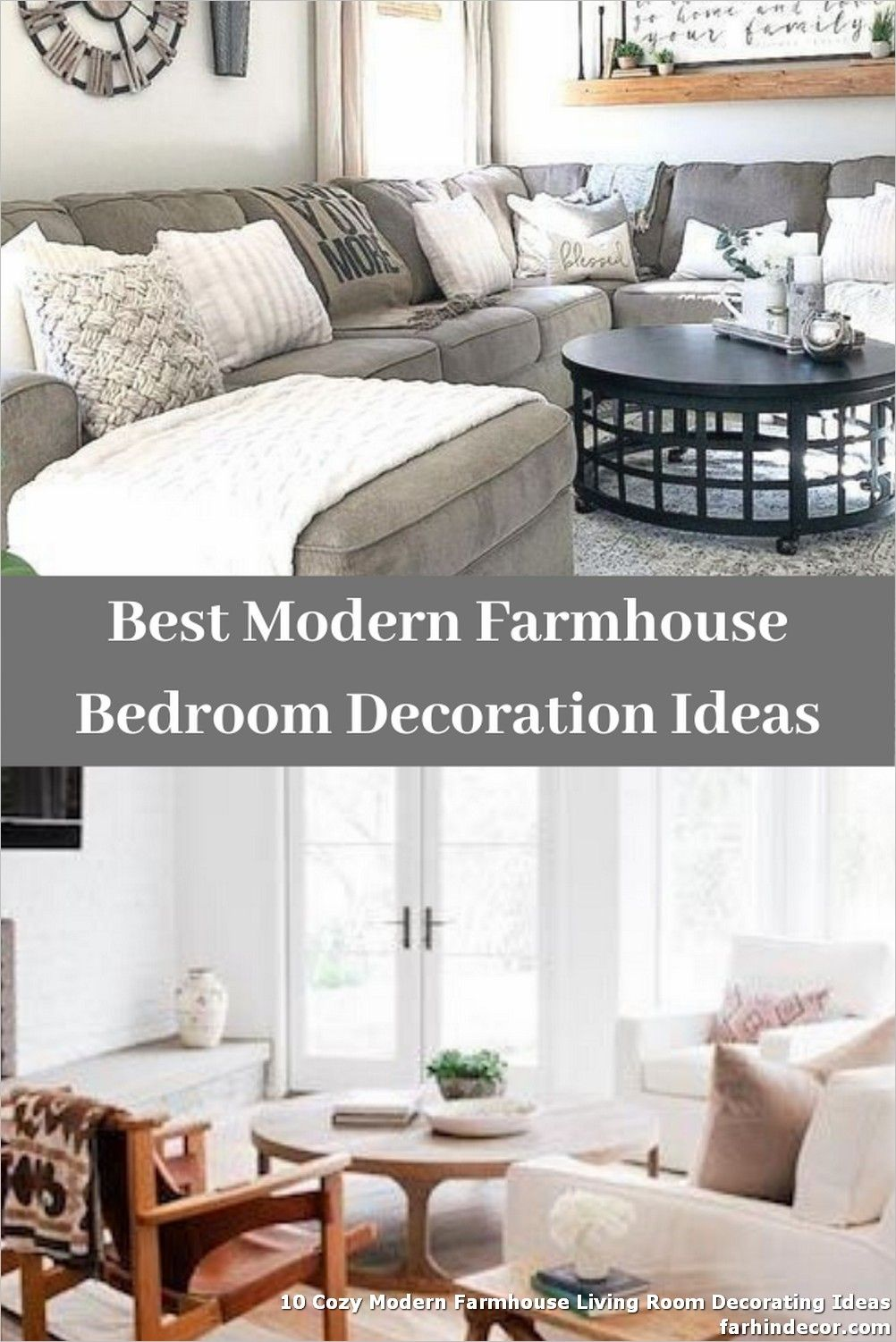 10 Cozy Modern Farmhouse Living Room Decorating Ideas In 2020 Modern Farmhouse Living Room Farm House Living Room Farmhouse Living