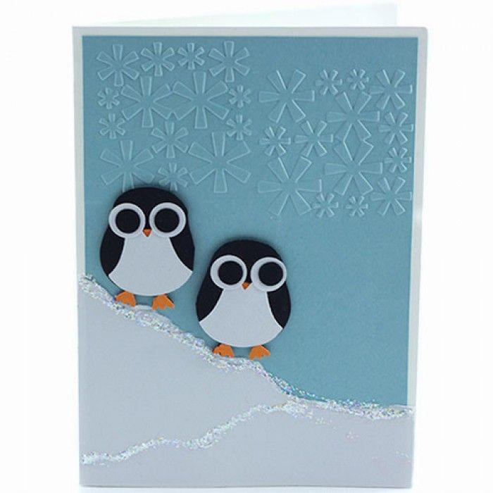 Handmade penguin Christmas Card Design Ideas | Adult Programming ...