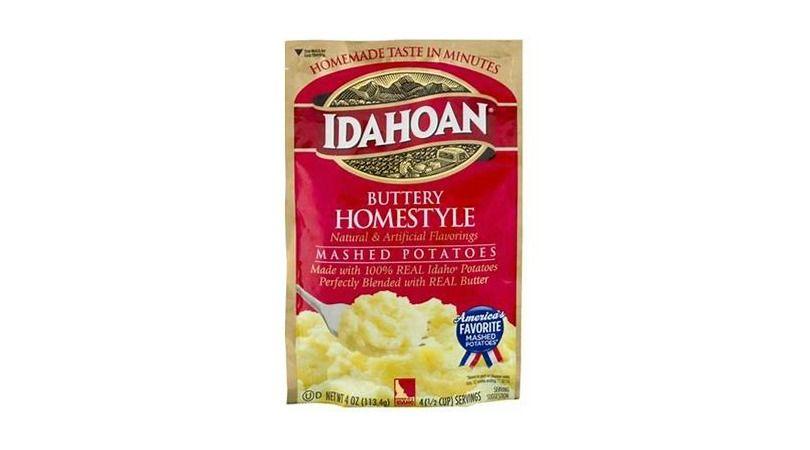 Free bag of idahoan instant potatoes idahoan instant