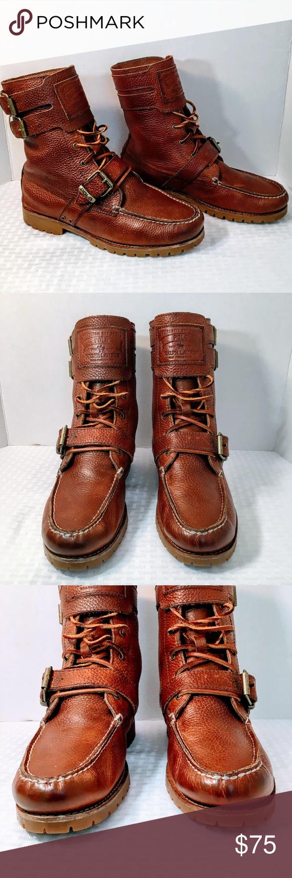 Buckle boots, Boots, Ralph lauren shoes