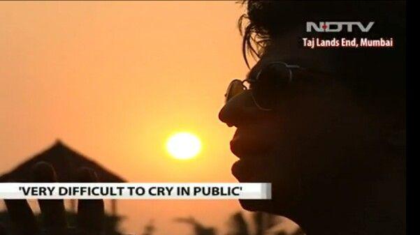 Srk at walk the talk #NDTV