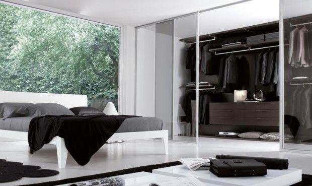 24 idées de dressing pour votre loft | Dressing, Chambre avec ...
