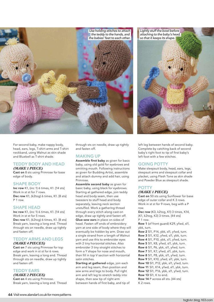 Simply Knitting №161 2017 - 轻描淡写 - 轻描淡写 | Amigurumi ...