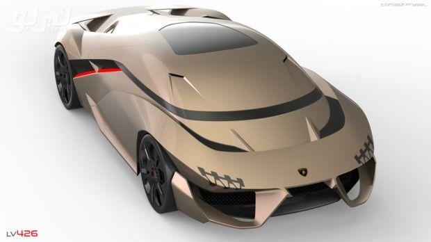 صور طالب يصمم سيارة لمبرجيني مستقبلية تحاكي الخيال موقع تيربو العرب Hybrid Sports Car Sports Car Bicycle Helmet