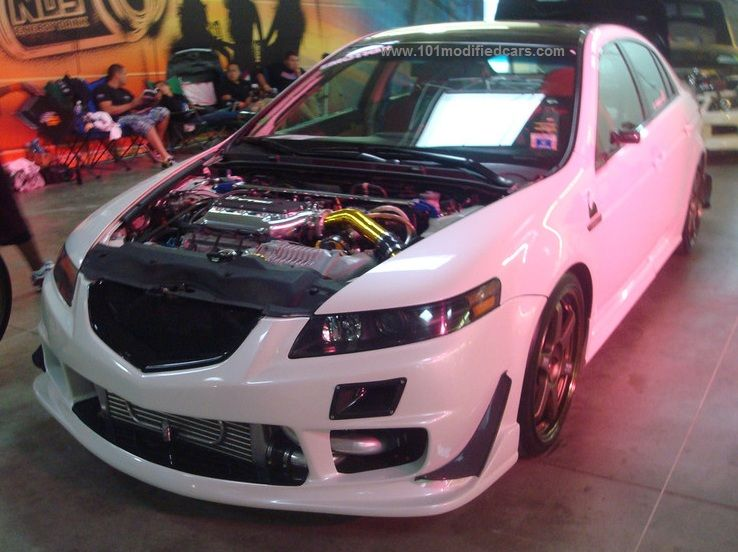 Modified Acura TSX St Generation Turbocharged With Front Bumper - Acura tsx turbo