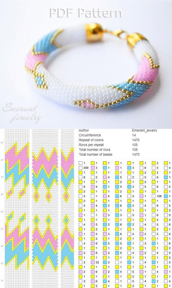 Photo of Hacks  #crochet #bracelet bead crochet rope bracelet, bead crochet snake pattern…