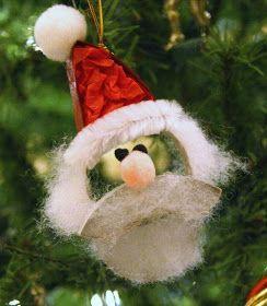 Tutorials: Paper Roll Santa