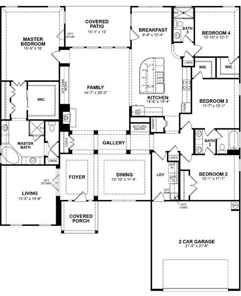 The Park At Arbordale Cypress Tx New Homes In Cypress Tx Floor Plans House Plans Barndominium Floor Plans