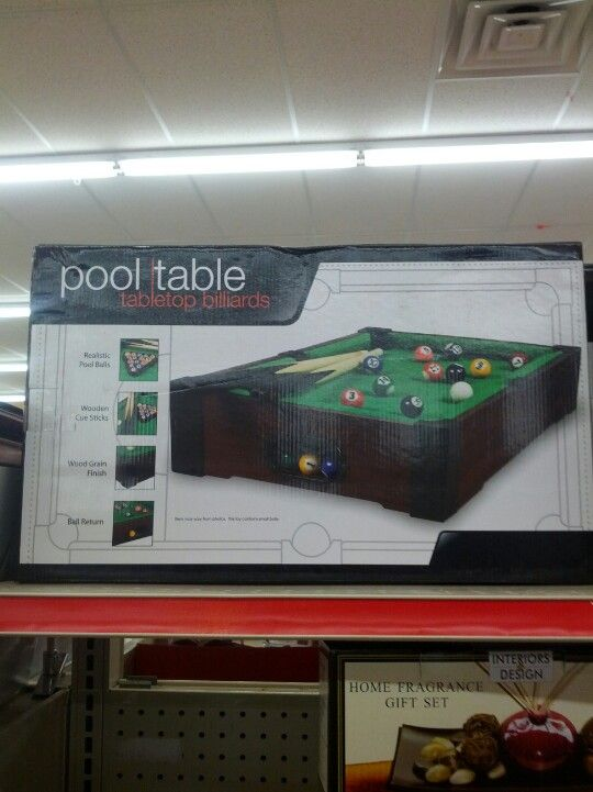 Mini Pool Table Family Dollar 20 01