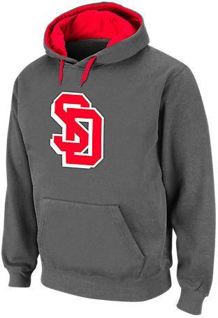 STADIUM Men's South Dakota Coyotes College Cotton Pullover Hoodie