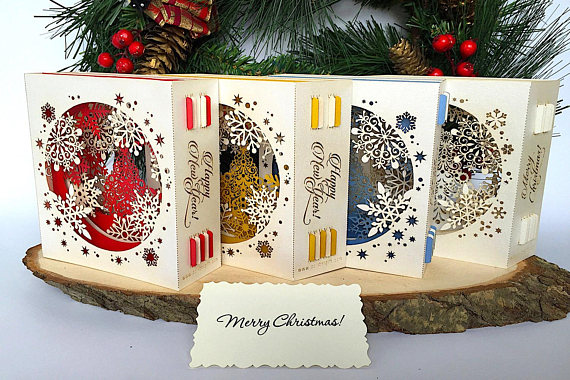 Popular Custom Made Christmas Gifts For 2021 Photo Picture Personal Personalized Pop Up Christmas Cards 3d Etsy Christmas Card Art Pop Up Christmas Cards Corporate Christmas Cards